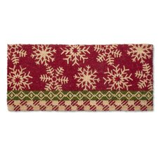 Snowflake Estate Doormat