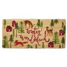 Winter Wonderland Estate Doormat