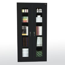 Clear View 2 Door Storage Cabinet