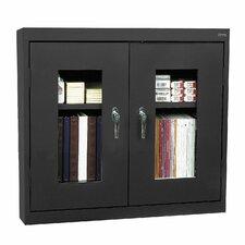 Clear View 2 Door Storage Cabinet