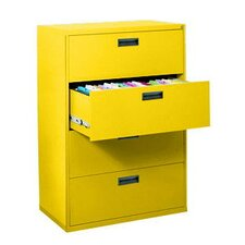 400 Series 4-Drawer  File Cabinet