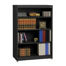 "Elite Radius Edge Stationary 52"" Standard Bookcase"