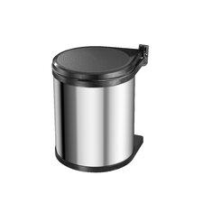 Einbau-Abfallsammler 15 Compact-Box aus Edelstahl