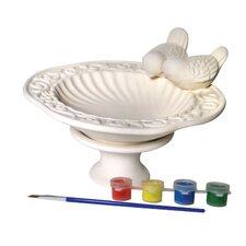 Paint Your Own Bird Bath