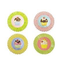"""8"""" Cupcake Plates (Set of 4)"""