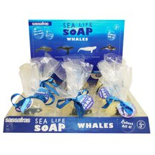 Whale Soap Display