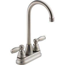 Two Handle Centerset Bar Prep Faucet