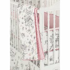 China Doll 3 Piece Crib Bedding Set