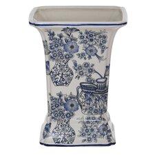 Porcelain Garden Square Vase