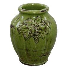Sculpted Fruit Vase