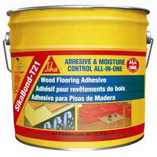 Sikabond-T21 All-in-One Polyurethane Adhesive for Wood Floors - 4 Gallons