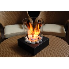 Love-Box Tabletop Fireplace