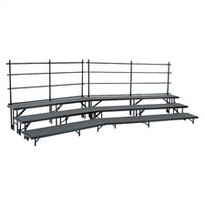 Tapered Standing Choral Riser Set in Hardboard