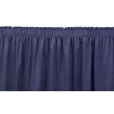 Shirred-Pleat Stage Skirting
