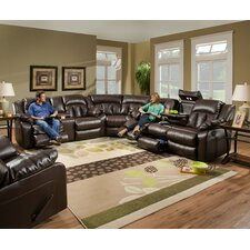 Sebring Leather Sectional