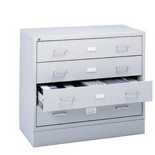 Four-Drawer A/V Microform Storage Cabinet