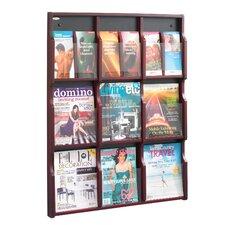 Expose 9 Pocket Magazine/18 Pocket Pamphlet Display