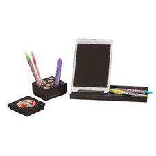 4 Piece Splash™ Wood Desk Set