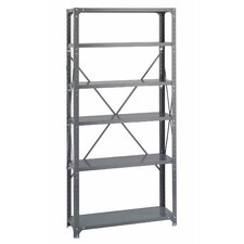 Commercial Steel 6 Shelf Shelving Unit