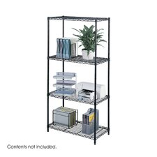 Industrial Wire 3 Shelf Shelving Unit Starter
