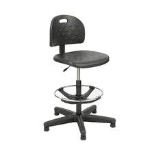 Soft-Tough Height Adjustable Drafting Chair