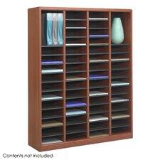 """E-Z Store Wood 52 1/4"""" Literature Organizer"""