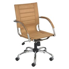 Flaunt Series Leather Conference Chair
