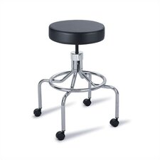Height Adjustable Lab Stool with 2 Swivel Casters