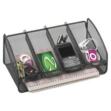 Metal Mesh Desk Organizer (Set of 36)
