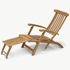 Steamer Adjustable Back Deck Chair