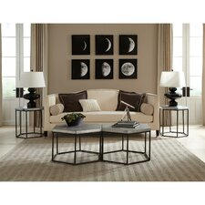 Lyric Hexagon Coffee Table Set