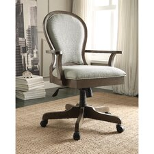 Belmeade Scroll Back Executive Chair with Arms