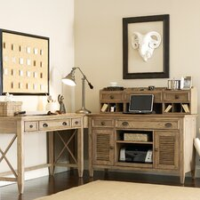Coventry 4-Piece L-Shape Writing Desk Office Suite