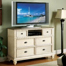 Coventry Two Tone 6 Drawer Media Chest