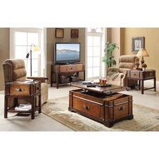 Latitudes Steamer Trunk Coffee Table Set
