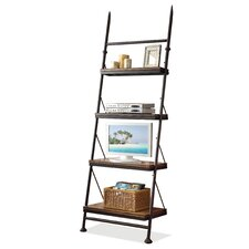 "Camden Town 88.5"" Leaning Bookcase"