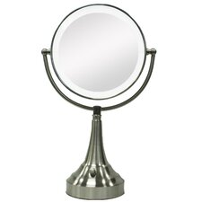 Round Vanity Mirror with LED Surround Light