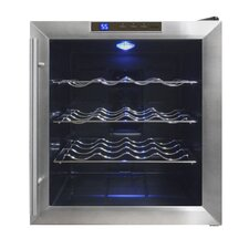 16 Bottle Single Zone Freestanding Wine Refrigerator