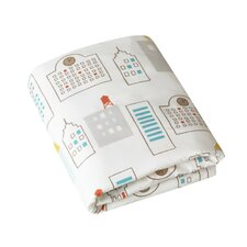 Skyline Fitted Crib Sheet