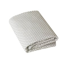 Skyline Squares Fitted Crib Sheet