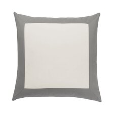 Modern Border Smoke Euro Sham (Set of 2)