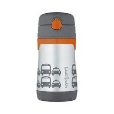 Transportation 10 oz Vacuum Insulated Straw Bottle