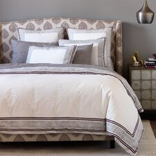 Blockprint Border Fig Duvet Cover