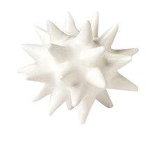 Urchin White Decorative Objet