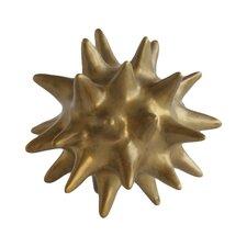 Gold Urchin Antique Objet
