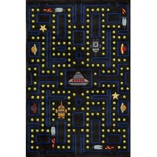 Space Game Kids Area Rug