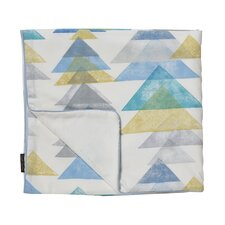Triangles Stroller Blanket