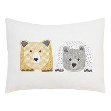 Bears Cross Stitch Pillow