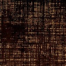 Etched Velvet Fabric - Espresso