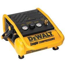 Oil-Free Hand Carry Compressors - Heavy Duty 1 Gallon 135 PSI Max Trim Air Compressor